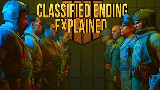 Classified Easter Egg Ending Cutscene Explained | Black Ops 4 Zombies Classified Storyline