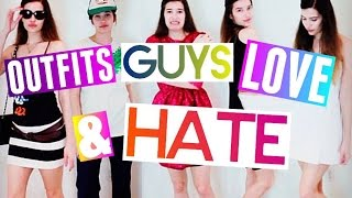 OUTFITS GUYS LOVE (AND HATE!) ♥ // BACK-TO-SCHOOL