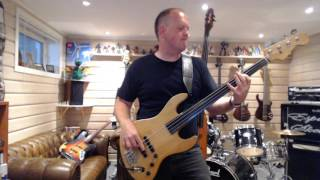me playing bass Video