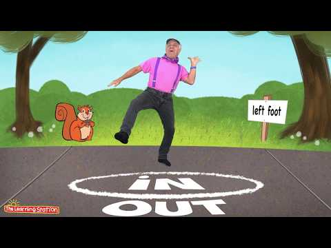 Hokey Pokey ♫ Children's Dance Song ♫ Kids Brain Breaks by The Learning Station