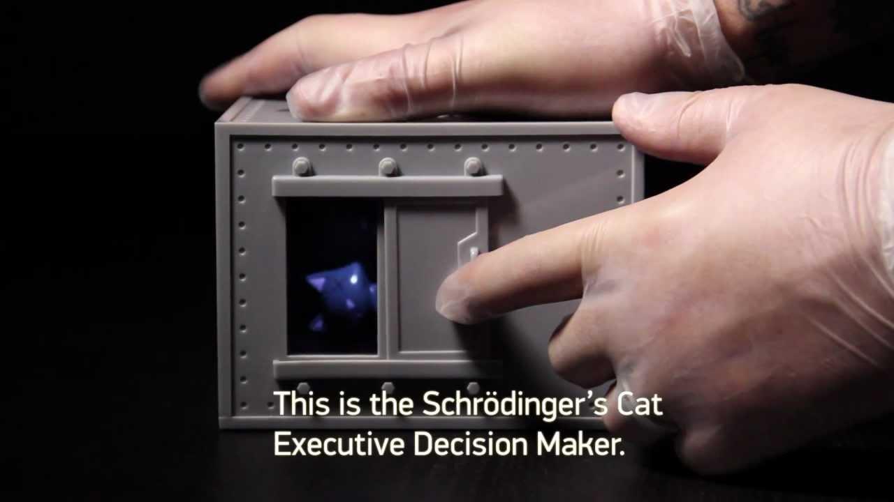 Let Schrödinger's Cat Decide If You Should Order Sushi Or Thai