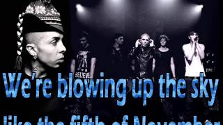 Dappy ft The Wanted - Bring it home Lyrics