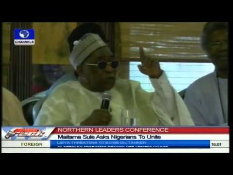 Northern Leaders Conference: Maitama Sule Asks Nigerians To Unite