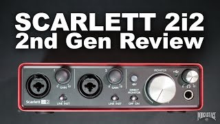 Focusrite Scarlett 2i2 (2nd Gen) USB Audio Interface Review / Explained