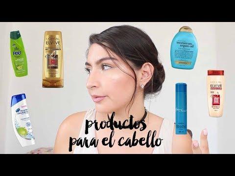 RESEÑA PRODUCTOS PARA EL CABELLO! ♥ - Parte 1 Shampoos y acondicionadores