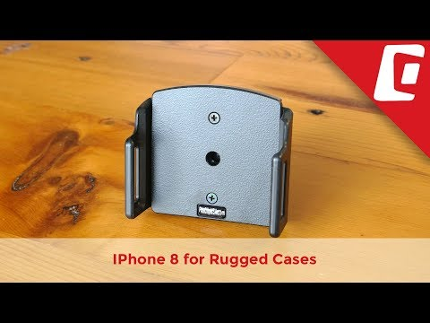 Play Video: Adjustable iPhone Holder for Rugged Cases