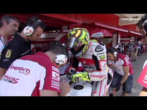 Behind the Scenes with Andrea Iannone