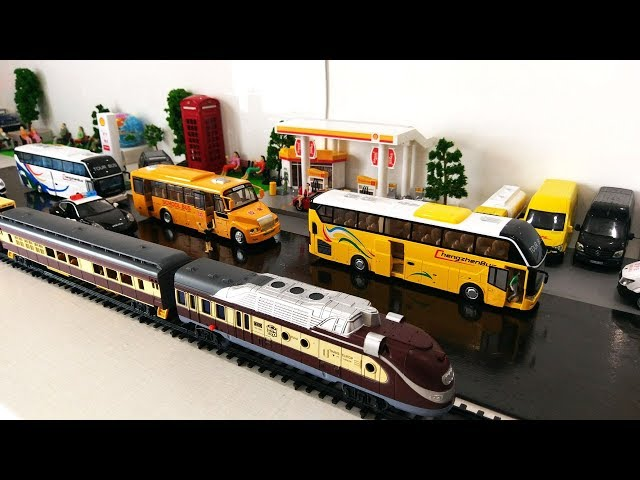 Toy Trains Car Cartoon for Kids | Train Cartoon | Cars and Buses for Children Cars Cartoon Toys