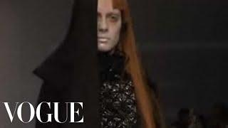 Fashion Show - Gareth Pugh: Fall 2007 Ready-to-Wear