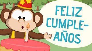 Feliz cumpleaños | Canciones para niños | Toobys
