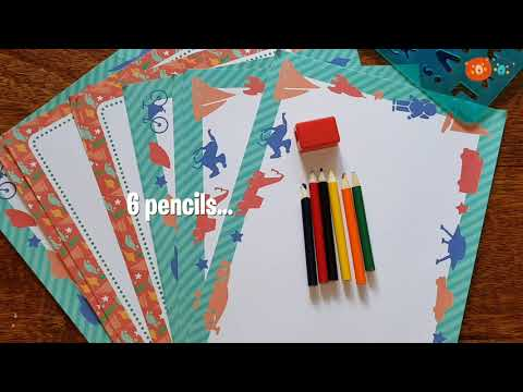 Youtube Video for Big Box of Animal Stencils - 150 Shapes