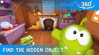 Find The Hidden Objects in 360 - Om Nom Stories: Mysterious House