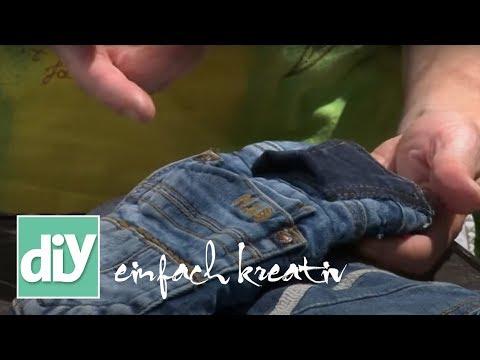 Grillhandschuh aus Jeanshose | DIY einfach kreativ