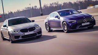 Mercedes-AMG GT63 S vs BMW M5 Competition. Спецвыпуск