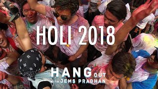 Hangout with Jems Pradhan | HOLI Vlog with Celebrities