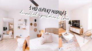 OFFICIAL APARTMENT TOUR   Mid Century Modern Decorated Apartment 2020 Tour