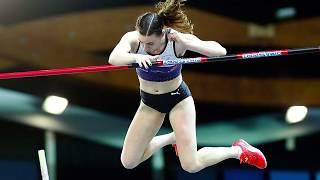 Liévin 2020 : Le saut à 4,65 m de Ninon Guillon-Romarin