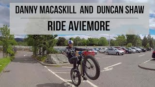 Had a seriously fun ride in Aviemore last week with Duncan Shaw