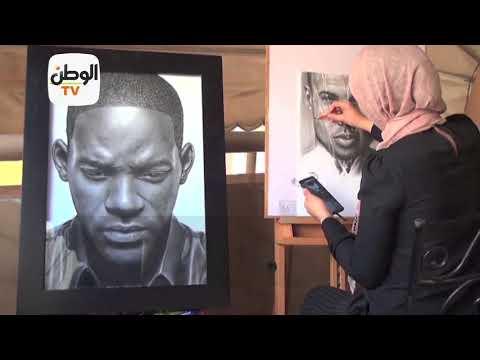 شروق يحيى.. مهندسة وصلت للعالمية برسم محمد صلاح وويل سميث