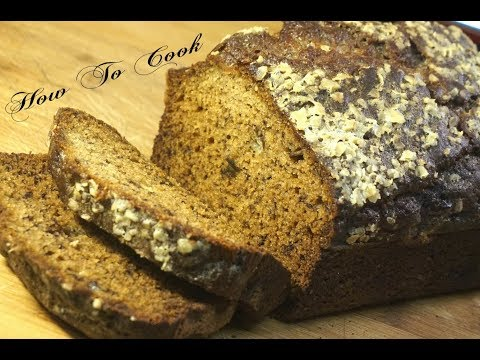 THE BEST MOIST FLUFFY #BANANABREAD RECIPE ~ BY #HOWTOCOOK