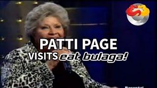 Patti Page Visits Eat Bulaga
