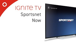 Sportsnet Now on Ignite TV