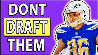 2020 Fantasy Football Do NOT Draft These Players