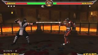 Mortal Kombat Armageddon - Human Smoke (KAF) Arcade Ladder