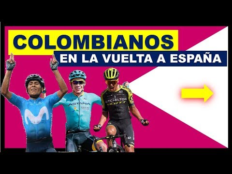 Colombianos en La VUELTA a ESPAÑA 2019 Nairo Chaves Superman