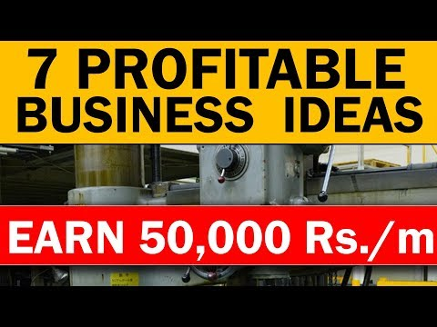 , title : '7 Profitable BUSINESS IDEAS to EARN 50,000 Rupees/Month