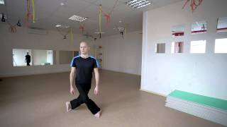 Смотреть онлайн Урок упражнений каланнетики для начинающих