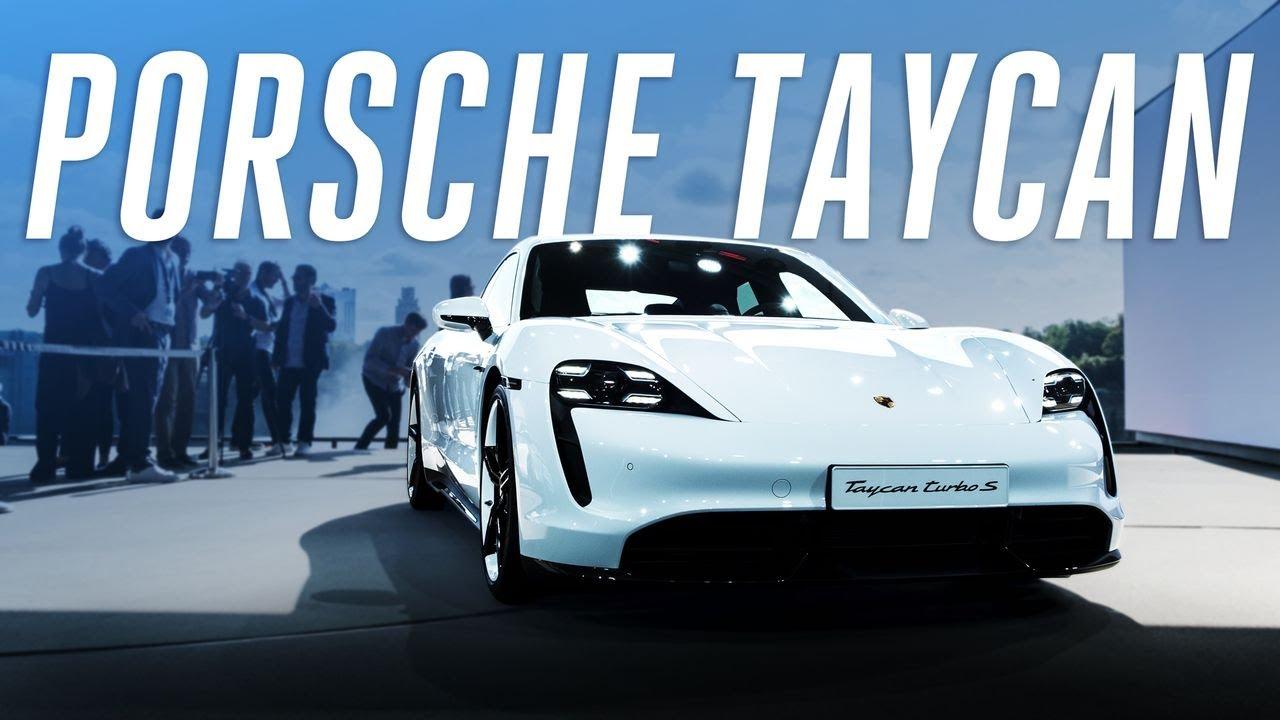Porsche Taycan first look thumbnail