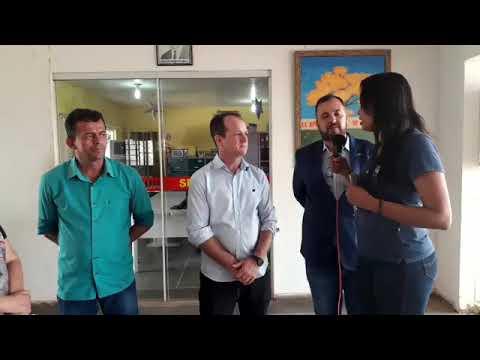 Prefeito Marquinhos acompanha visitação do Pró reitor da UNEMAT Sr Alexandre Gonçalves Porto onde funcionará cursos da Universidade em Paran