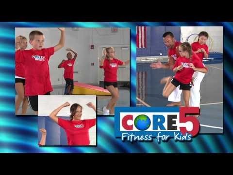Introducing Core5 Fitness for Kids