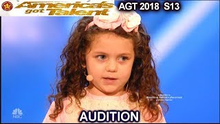 "Sophie Fatu 5 years old Sings ""My Way"" Simon Wants Her To Date His Son America's Got Talent 2018"