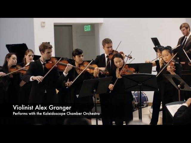 "Violinist Alex Granger Performs ""Music for the Theater"" on a Violin Crafted by Luthier Eric Benning"