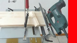 for every Jigsaw on Jigsaw Table to create perfect cuts without side movements