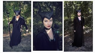 Maleficent Costume Makeup Tutorial | Halloween | 2014 Series