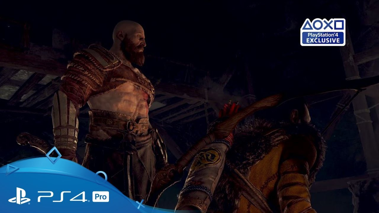 New God of War gameplay video shows how Atreus and Kratos team up in battle