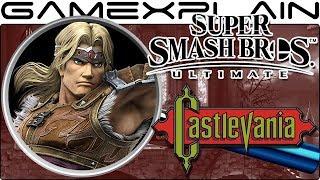 Smash Bros. Ultimate ANALYSIS - Simon Belmont, Richter, All Castlevania Reveals, & Luigi?! (Secrets)