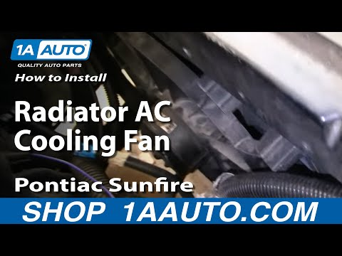 how to install a radiator fan in a 2000 chevy cavalier. Black Bedroom Furniture Sets. Home Design Ideas