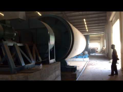 Lò sấy mùn cưa 3 lõi 5T/h Được chế tạo tại công ty TNHH Cơ khí Đông Hải