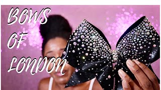 Bows Of London: Cheerleading Bow Review