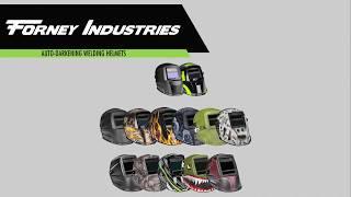 Forney Industries Auto-Darkening Welding Helmets