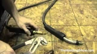 How To Replace Your MIG Welding Liner