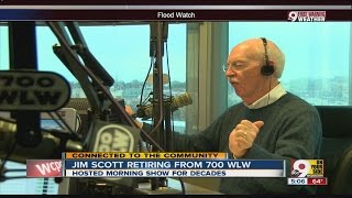 Jim Scott signs off from 700 WLW
