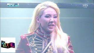 [투애니원 2NE1] - Crush @인기가요 Inkigayo 140309