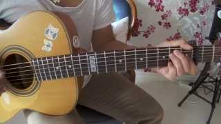 Beyonce - Ane Brun - Halo - Lesson - How to Play on guitar - Tutorial Chords