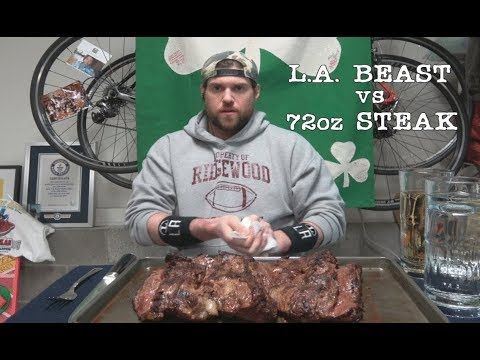 L.A. BEAST vs 72oz Steak