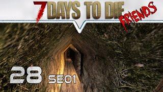 7 DAYS TO DIE Alpha 14 ★ Friends ★ 28 Vorbereitungen ★  Deutsch German Gameplay